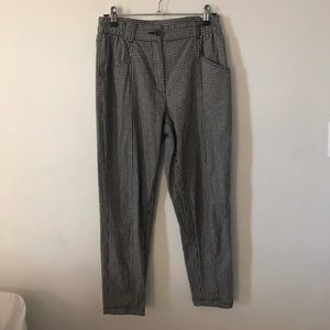 Pants - Urban Outfitters checkered gingham print trousers